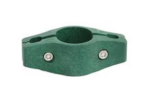 Giardino | Middenklem plastic | Ronde paal | 60mm | RAL6005 Groen