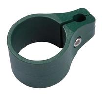 Giardino | Eindklem plastic | Ronde paal | 60mm | RAL6005 Groen