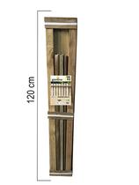 Giardino | Legno t.b.v. Napoli draadpaneel | 120cm