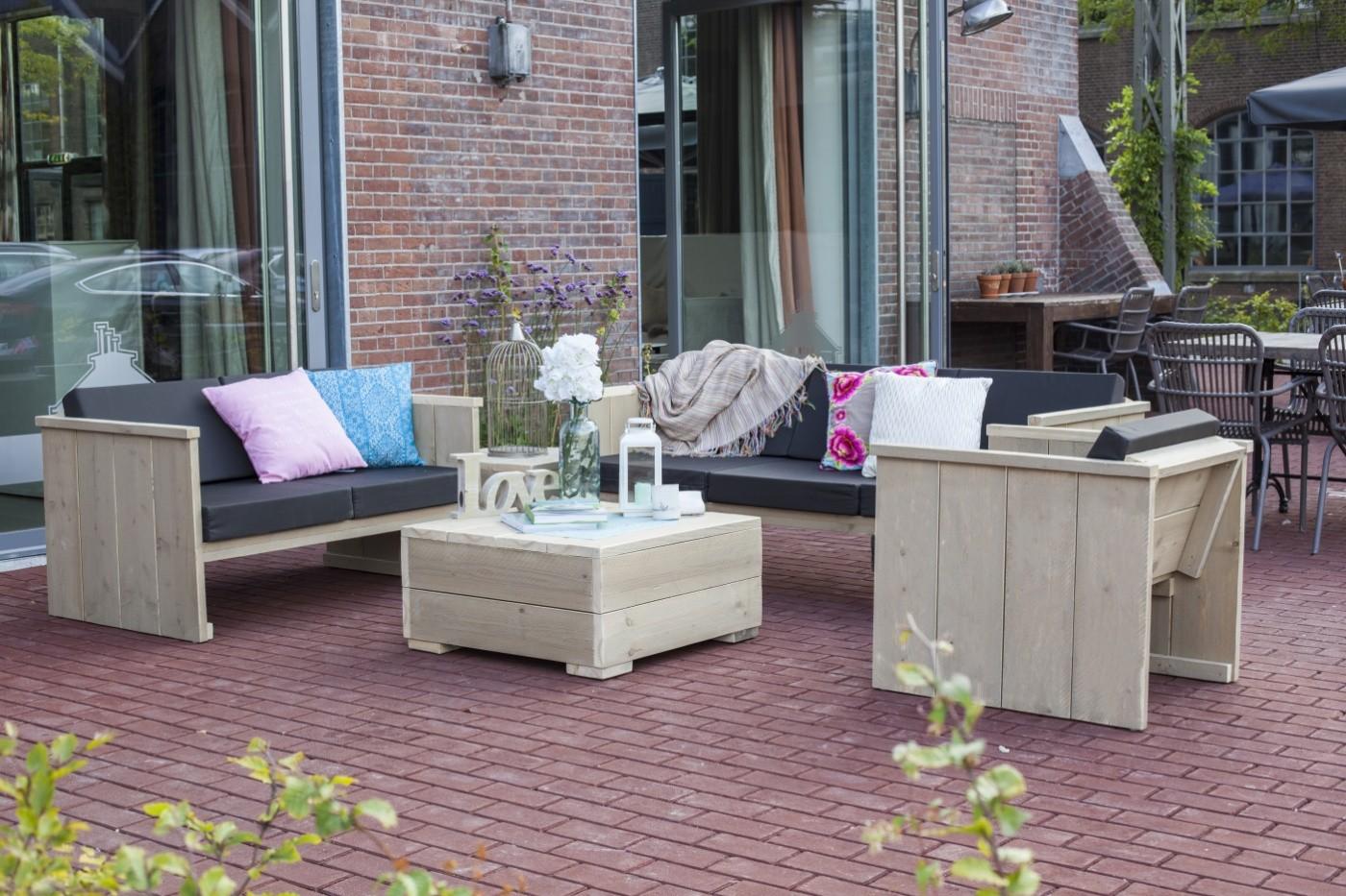 Westwood | Tuinset Lounge | Loungebank 3 zits