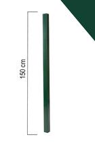 Giardino | Vierkante paal | 60x60mm | 150cm | RAL6005 Groen