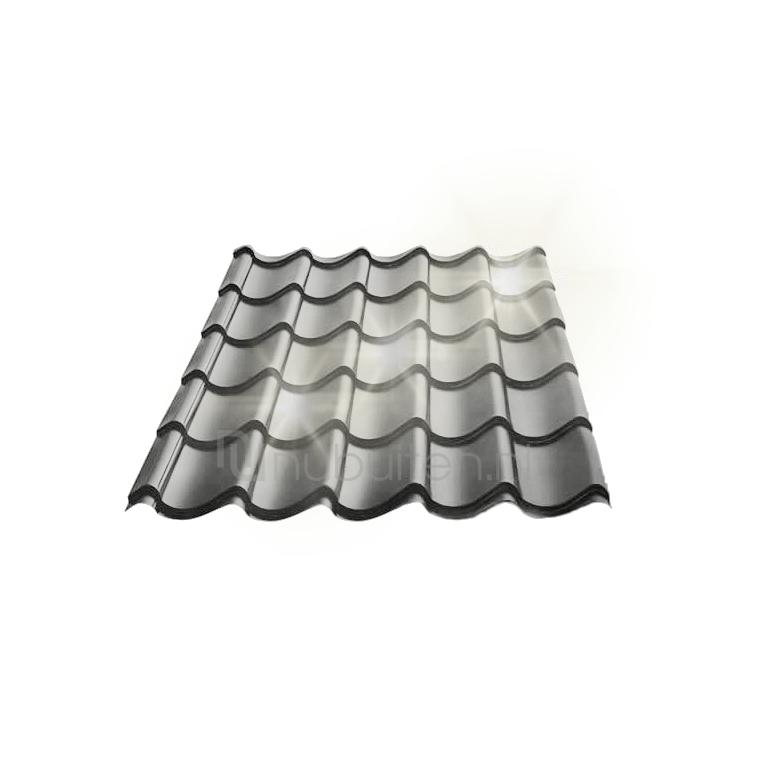 Tata Steel Dakpanplaat glans Kingstile Antraciet 1350 mm