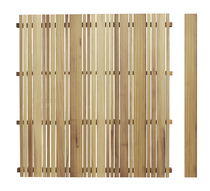 Exterior living | Tuinscherm Eterno 180x178 | Grenen
