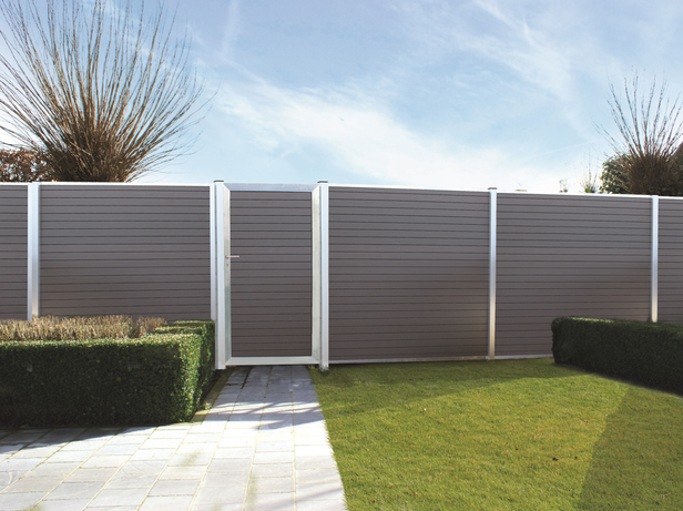 Exterior living | Tuinpoort Curtis 100x180 | Smalle plank