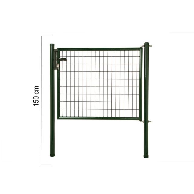 Giardino | Napoli enkele poort | 150cm | RAL6005 Groen