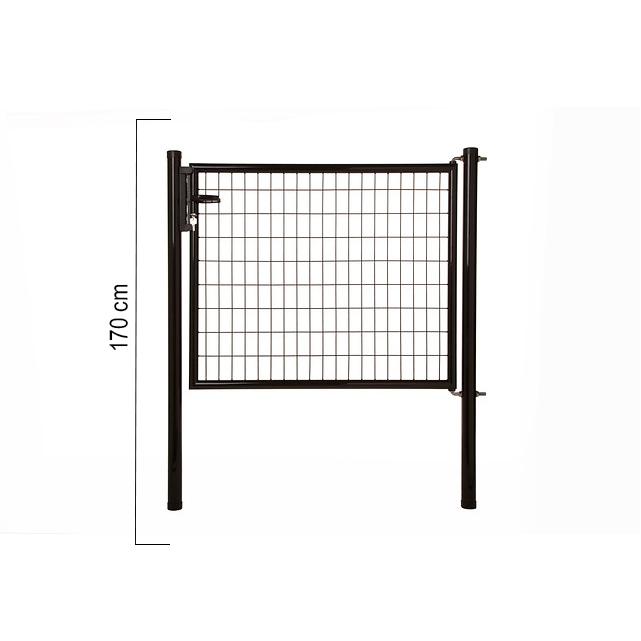 Giardino | Napoli enkele poort | 170cm | RAL9005 Zwart