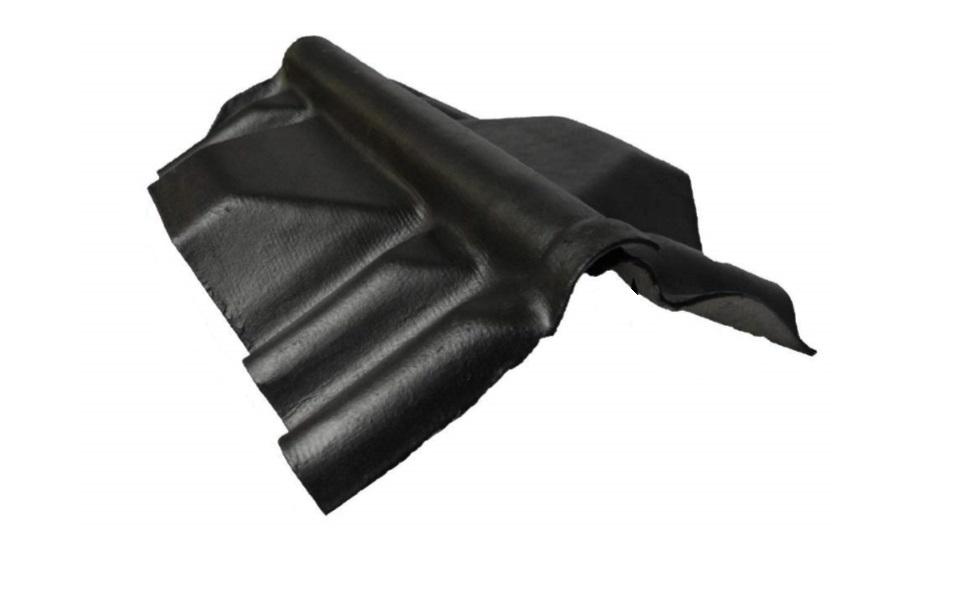 Landini Golfscharniernok met ventilatie Type 1 | Zwart