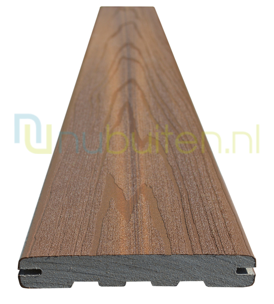 Fiberon | Xtreme | R12 Teak | Vlonderplank 20 x 127 mm | 366 cm