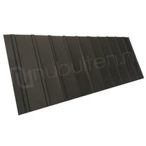 Arcelor Mittal | Damwandplaat mat | T6 gevel | Zwart | 450 mm