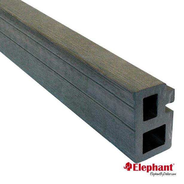 Elephant | Regel- en kantafwerking | Antraciet | 35 x 60 mm