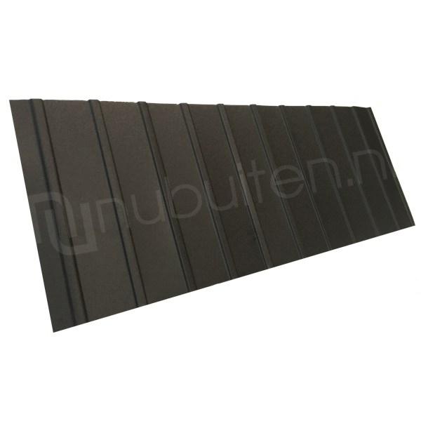 Arcelor Mittal | Damwandplaat mat | T6 dak | Zwart | 1350 mm