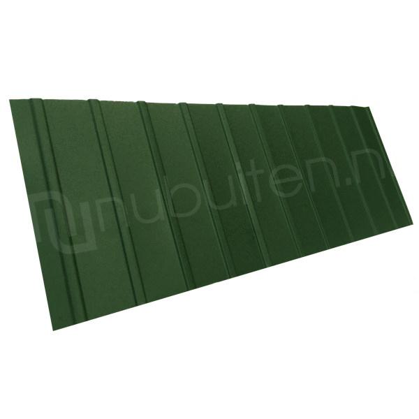 Arcelor Mittal | Damwandplaat mat | T6 gevel | Groen | 750 mm