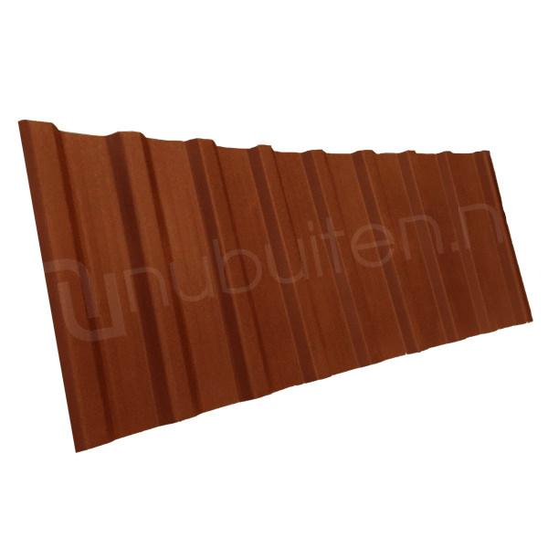 Arcelor Mittal | Damwandplaat mat | T18 gevel | Koper bruin | 1800 mm