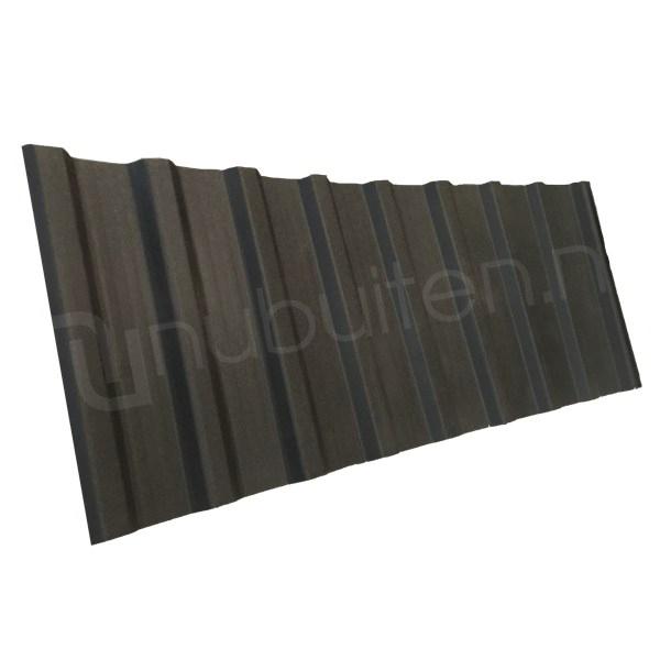Arcelor Mittal   Damwandplaat mat   T18 dak   Zwart   3750 mm