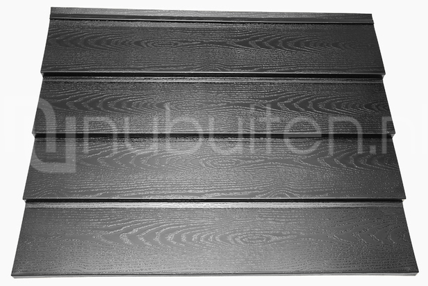 Tata Steel | Wandprofiel Holland Rabat HPS200 Ultra | Antraciet | 4000 mm