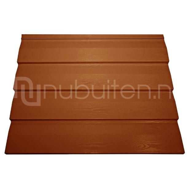 Tata Steel   Wandprofiel Finish Rabat HPS200 Ultra   Terracotta   3000 mm