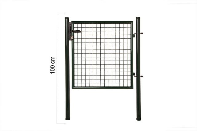 Giardino   Enkele poort   100cm   RAL6005 Groen