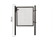 Giardino | Enkele poort | 100cm | RAL9005 Zwart