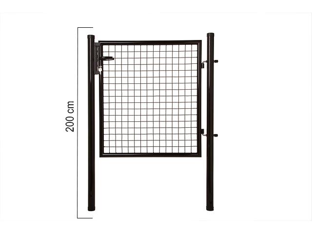 Giardino | Enkele poort | 200cm | RAL9005 Zwart