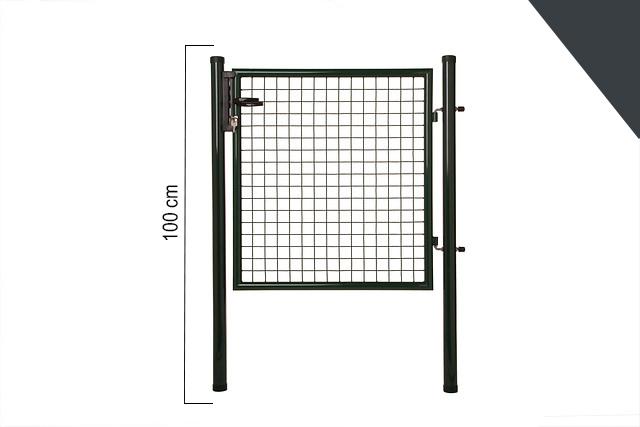 Giardino | Enkele poort | 100cm | RAL7016 Antraciet