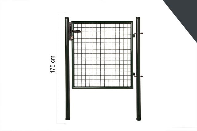 Giardino   Enkele poort   175cm   RAL7016 Antraciet
