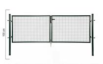 Giardino | Dubbele poort | 100cm | RAL6005 Groen