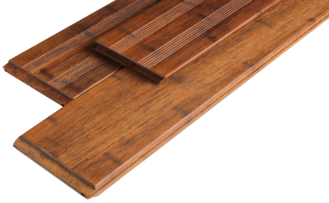 Bamboe Vlonderplank | Coffee Select | Frans / Glad | 20 x 140 | 220 cm
