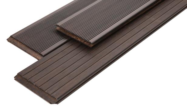 Bamboe Vlonderplank | Espresso Elegance | Grof / Fijn | 20 x 139 | 187 cm