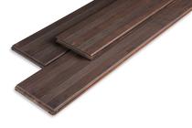 Bamboe Vlonderplank | Espresso Santos | Frans / Glad | 20 x 139 | 187 cm