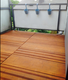 Bamboe Terrastegel   Mega Deck   Frans / Glad   30 x 95 cm