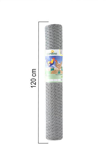 Giardino | Zeskantvlechtwerk | 13mm | 25m | 120cm