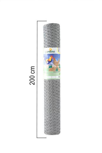 Giardino | Zeskantvlechtwerk | 13mm | 25m | 200cm