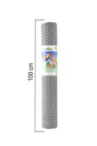 Giardino | Zeskantvlechtwerk | 30mm | 50m | 100cm