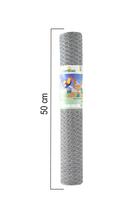 Giardino | Zeskantvlechtwerk | 50mm | 10m | 50cm