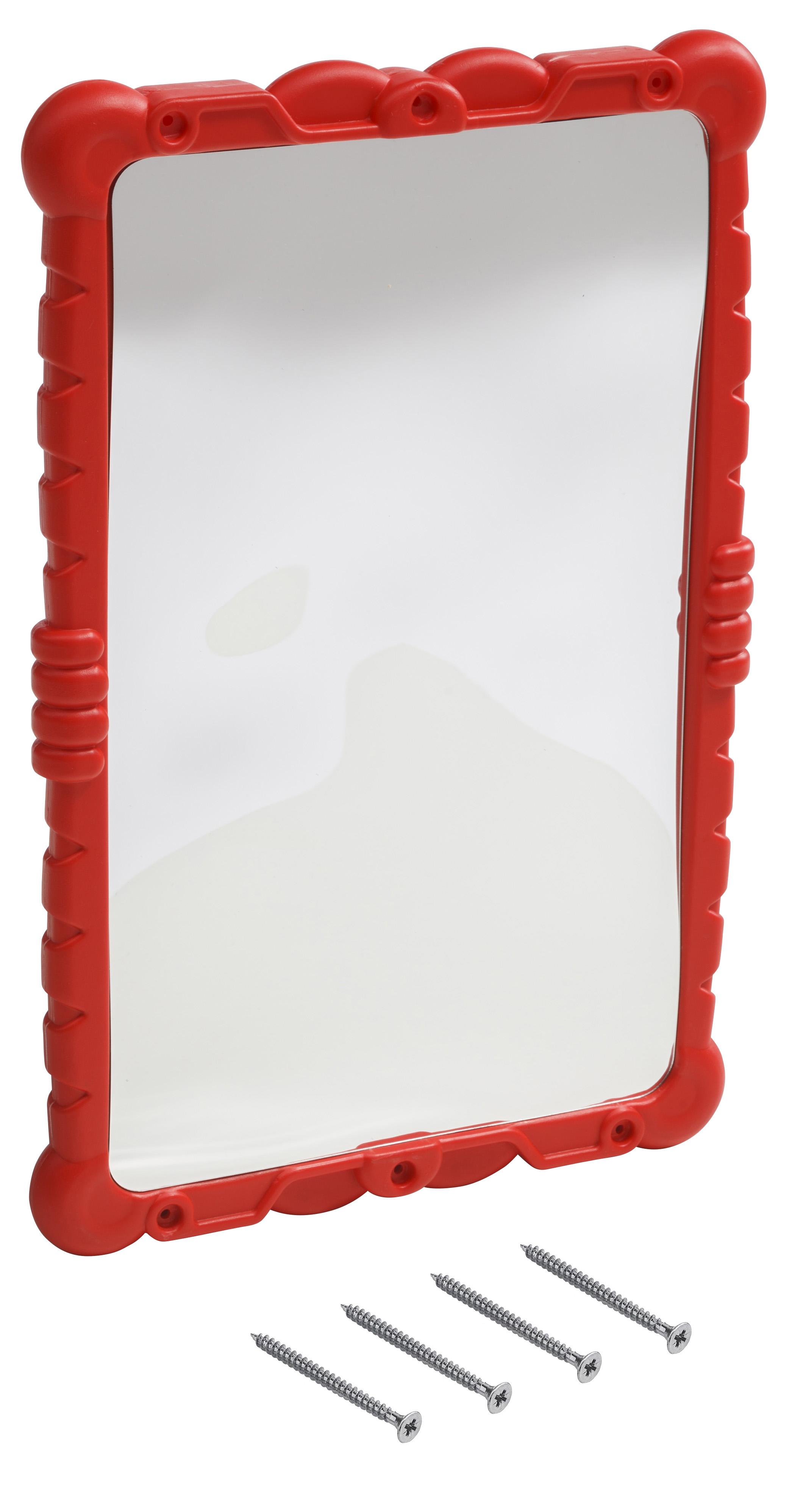 KBT | Lachspiegel / 'Haha' spiegel | Rood