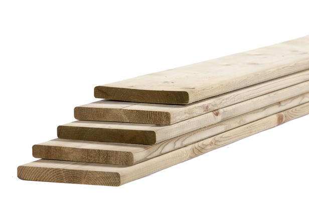 Tuinhout plank NE Vuren   18 x 145 mm   180 cm