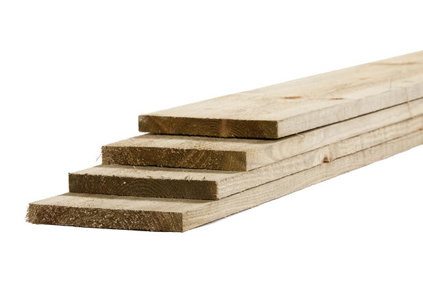 Tuinhout plank vuren | 23 x 200 | Ruw 300cm