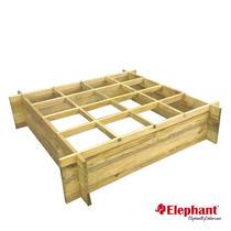Elephant | Trendline moestuinkader | 100x100 cm