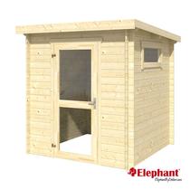Elephant | Blokhut Basic 190 | 190x190 cm