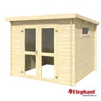 Elephant | Blokhut Basic 250 | 250 x 250 cm