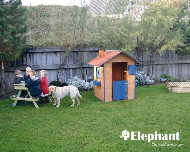 Elephant | Kinderspeelhuisje geverfd