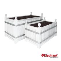Elephant | Bloembak Orangerie Trend | 35x70 cm