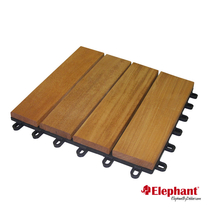 Elephant | Terrastegel hardhout | 30 x 30 cm