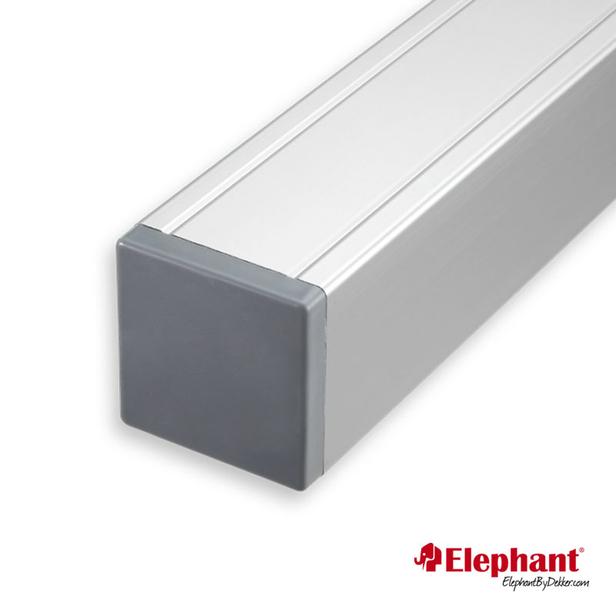 Elephant   Aluminium paal/kap   Aluminium   68x68 mm lengte 99 cm