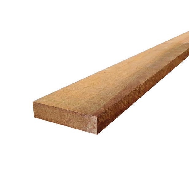 Hardhouten azobe gording | 4 x 15 cm | Gezaagd | 300cm