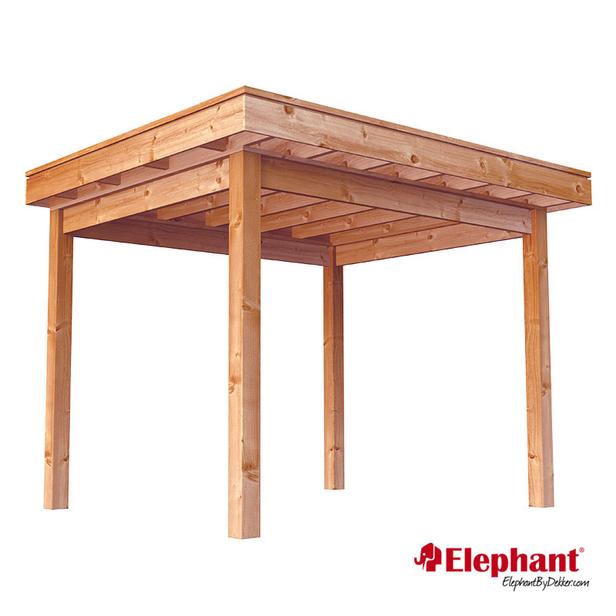 Elephant | Douglas veranda Xterior | 300x300 cm