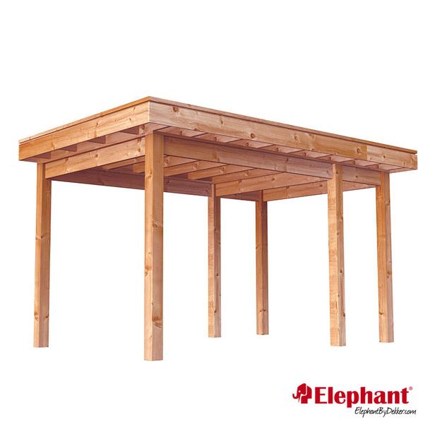 Elephant | Douglas veranda Xterior | 300x400 cm