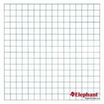 Elephant | Draadmat | 180 x 180 cm