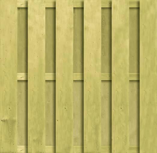 CarpGarant | 1252 | Recht ruw XL verticaal | 180 x 180 cm