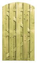 CarpGarant | Deur toog verticaal | 180 x 100 cm | met slotgat